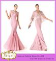 2014 nova marca de moda comprimento do assoalho sereia v- pescoço rosa elie saab prom vestidos( bg738)