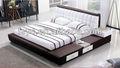 Popular cama de casal madeira com gavetas( dmb307)