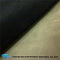 2014 nueva diseño PU cuero sintético para forro calzado con precio competitivo