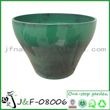olla de vidrio para las plantas