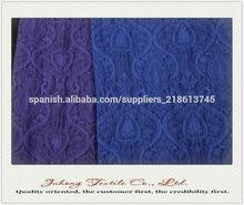 Con características nacionales de tejido jacquard para prendas de vestir.