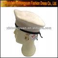boina militar sombreros blancos
