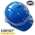 polietileno de alta densidad de la industria de la construcción ansi trabajo de rescate casco de seguridad