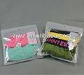 pvc vêtements en plastique sac à fermeture éclair