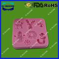moldes de silicone para bolo de decoração vida colorida flor fazer de de molde de silicone bolo de queijo