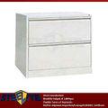 Blanco Gabinete de Archivo de Acero