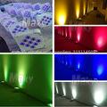 Venta caliente!9*18w Luces Led par plana / luces de discoteca LED