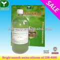 Productos químicos textiles, brillante y suave de silicona amino aceite( dr- 4000)