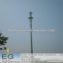 de acero de telecomunicaciones monopolo gsm torre de acero