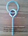 zinc plaqué acier doux boulon à œil avec anneau soudé