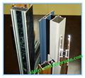 china insturial perfil de aluminio para puertas correderas armarios