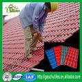 Tejas sintéticas para techo tipo español estilo bambú con recubierta ASA