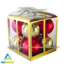 Bola decorativa navidad esfera roja