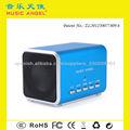 MUSIC ANGEL mini altavoz JH-MD05BT Micro SD / TF hands-free call altavoz sin hilos del bluetooth para los teléfonos móviles