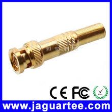 robusto y durable cat5 cable rg11 conector bnc macho para circuito cerrado de televisión