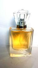 Venta al por mayor de alta calidad de cristal botella de perfume fragancia para dama