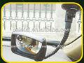 2013 coche dvr cámara niversal chrome espejo lateral para camiones de visión trasera,