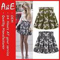 ae joven de moda las niñas mini falda