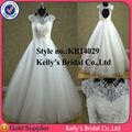 2014 Vestido de boda del cordón del vestido de bola vestidos para bodas