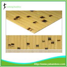 de bambú chino ventilador de la mano del arte de la pared decoración de hogar