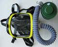 la policía de gases tóxicos máscara máscara full face riot anti máscara de gas de la policía de gas química militar máscara