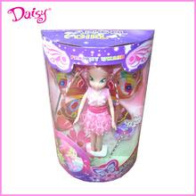 11 pulgadas mini de plástico las muñecas bratz