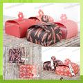 WT-PBX-1201 caja de bombones para la invitación de boda