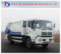 Dongfeng de combustible diesel 5000-7000l camión compactador de basura de la venta caliente