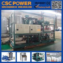 cscpower razonable precio industrial de amoníaco del bloque de hielo de la planta