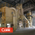 planta de molino triturador de calcita en polvo