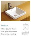 Lavabo sanitario chino cara de cerámica