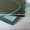 Ultra claro de vidrio muebles/templado parte superior del escritorio