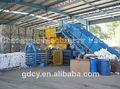 120 toneladas de ropa usada y textiles comprimir máquina empacadora automática