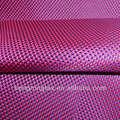 Tafetá de nylon/poli fios tingidos tecido de saco