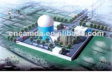 Llave en mano de plantas de biogás modelo/biomasa planta modelo/de energía de la biomasa de la planta de 20kw-1000kw