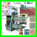 Baixo custo de cimento máquina de fazer telhado/telha de cimento equipamentos/telha que faz a máquina