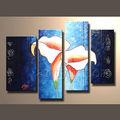 popular moderno abstracto lienzo de pintura de flores