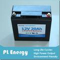 12V 20Ah de la batería de iones de litio para vehículos eléctricos
