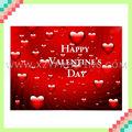 tarjeta de papel de San Valentín