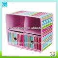colorido de tela plegable caja del cajón