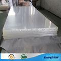 duro de gran capacidad láminas de plástico transparente
