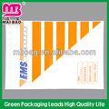 Auto- adhesivo de fedex de embalaje sobre la lista de la fábrica