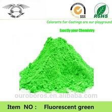 Pigmentos fluorescentes- temperatura 190 grados de plástico para
