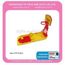 la promoción del juguete de bolsillo mini conjunto de baloncesto spotrt chico juguete