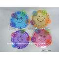 de plástico baratos instrumentos musicales de juguete pandereta transparente la promoción de pequeñas juguetes para los niños