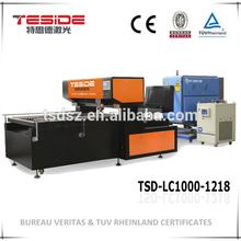 TSD-LC1000-1218 alto poder morir Junta cortadora del laser para troquelado fabricado en China