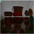 bio lareira pendurado vela votiva wammer vidro
