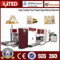 Machine à papier sac prix/sac de papier kraft machine/machine sac de papier alimentaire