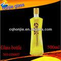 Fabricación de China Ecológico Botella de vidrio de peso ligero del Aceite de Oliva