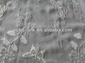 embroideried tela de seda al por mayor